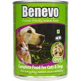 英國Benevo貓狗罐頭369g 頂級素食寵物食品 ★Vegan 含植物源牛磺酸 全素營養點心 低過敏配方
