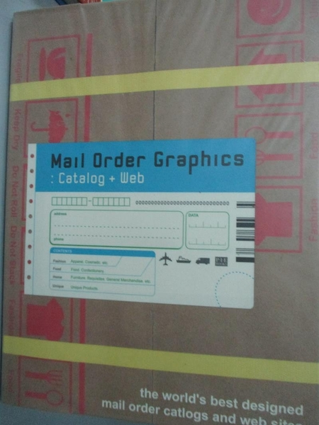 【書寶二手書T5/設計_QJB】Mail order graphics : catalog + web_日文書_P.I.