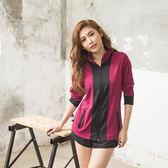 【8:AT 】外套 M-XL (莓紫)(未購滿1件恕無法出貨,退貨需整筆退)