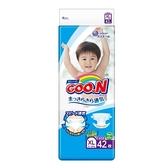 GOO.N日本境內版大王頂級紙尿褲(尿布)XL42片*4包(箱購) 1599元(無法超取)
