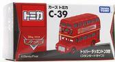 日本TOMY TOMICA 【CARS汽車總動員 C39 雙層巴士-85100】