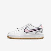 Nike Air Force 1 Lv8 GS [DB4542-100] 大童 休閒鞋 經典 AF1 舒適 穿搭 白粉