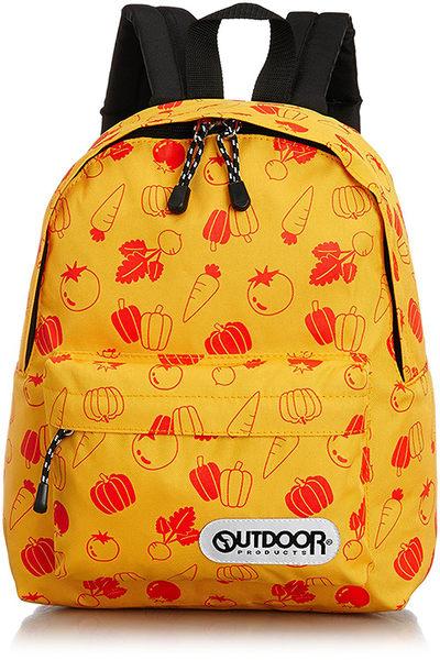 【日本代購】Outdoor Products 超輕量繽紛多彩後背包(小)-蜜黃