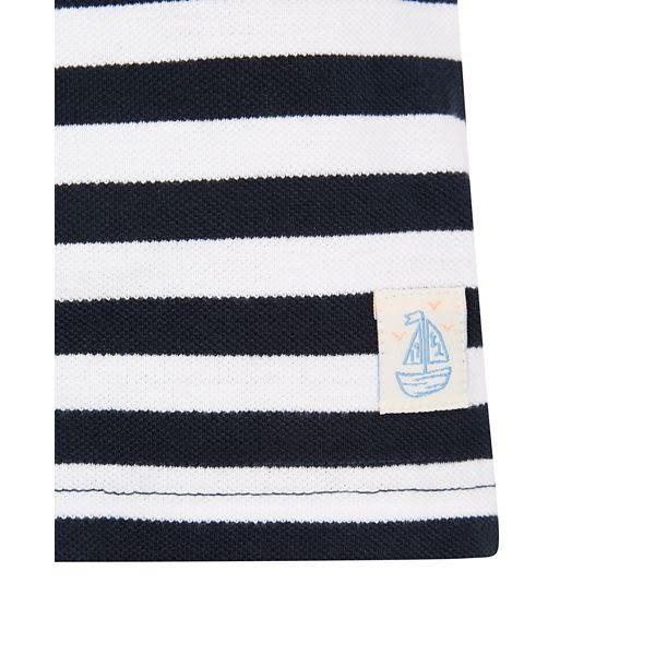mothercare 深藍條紋POLO衫-海灘派對(M0LF590)09M~5A
