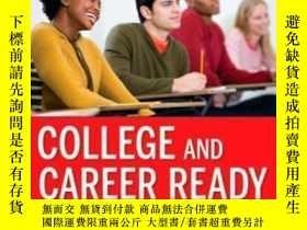 二手書博民逛書店College罕見And Career Ready: Helping All Students Succeed B