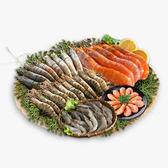 【免運】明星蝦爆綜合福氣箱(天使紅蝦1+肥豬蝦1+北極甜蝦1+海草蝦1+白蝦1)