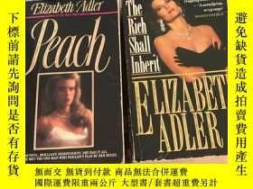 二手書博民逛書店The罕見Rich Shall Inherit+Reach(兩本合售)Y467724 ELIZABETH AD