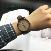 手錶手錶男學生韓版簡約潮流ulzzang女錶時尚皮帶休閒情侶石英男錶限時特惠下殺8折