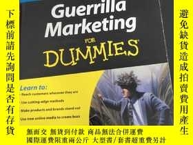 二手書博民逛書店guerrilla罕見marketing for dummies