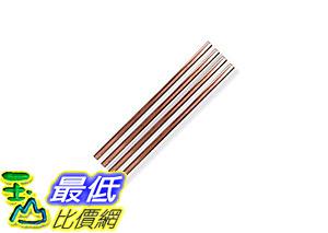 [106 美國直購] The Pineapple MAS-PINESTR-5C Metal Straws 金屬吸管組 Copper, 5吋(4入) made by W&P Design
