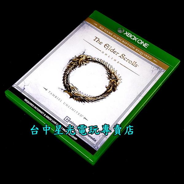 【Xbox One原版片 可刷卡】☆ 上古卷軸 Online 無限泰姆瑞爾 ☆【英文亞版 中古二手商品】