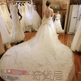 婚紗禮服新娘2018新款韓式修身顯瘦大長拖尾奢華公主簡約齊地夏季