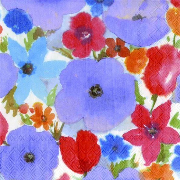 VERENA(淺紫)-德國 IHR 餐巾紙(33x33cm)
