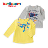 童裝 長袖T恤 卡通印花兒童上衣HOT BISCUITS【MIKIHOUSE】71-5202-269