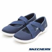 SKECHERS 女鞋 健走系列 GO WALK LITE 瑪莉珍娃娃款- 藍 15406NVY