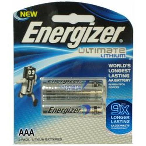 ENERGIZER勁量 鋰電池4號 2入