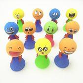 搞怪玩具 大號彈跳精靈新奇特玩具表情娃娃創意整蠱搞怪彈跳小人桌面玩具 歐萊爾藝術館
