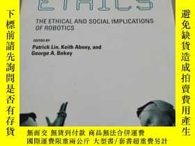 二手書博民逛書店Robot罕見Ethics: The Ethical and S