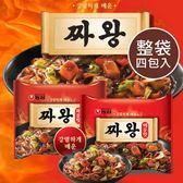韓國 農心 炸醬王麵 辣味 (四包入) 炸醬王 炸醬麵 辣味炸醬麵 韓式炸醬 泡麵 韓國泡麵