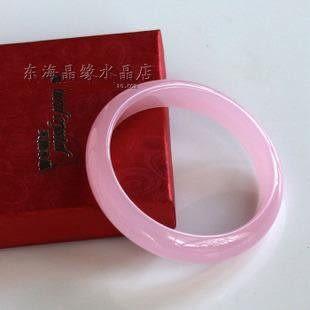 粉色水晶手鐲 粉玉髓手鐲 禮品 姻緣 巧遇貴人