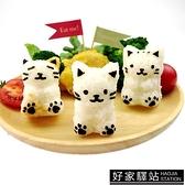 小貓咪飯團模具套裝帶海苔夾卡通米飯磨具做便當工具兒童DIY模具