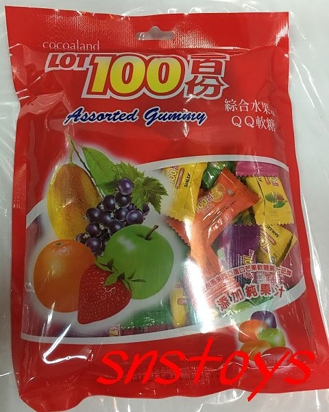 sns 古早味 一百份 水果軟糖 水果QQ糖(另有芒果口味) 230公克 馬來西亞進口