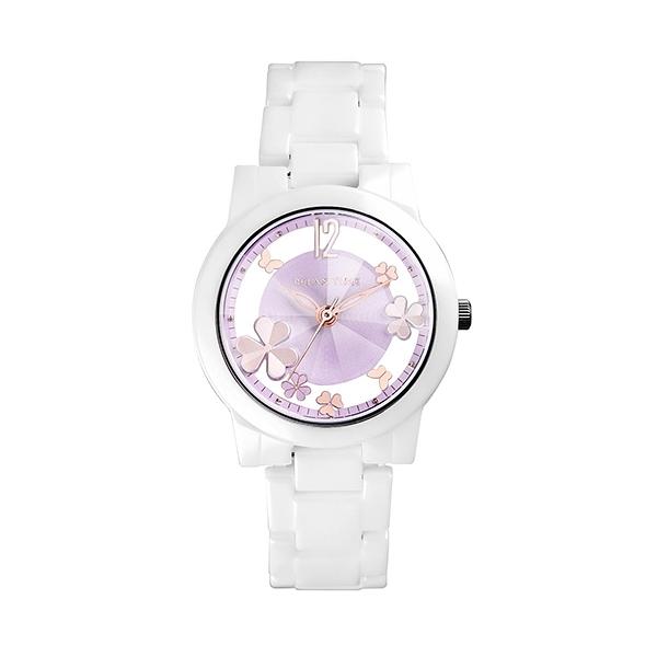 【Relax Time】Garden系列鏤空陶瓷時尚腕錶-繽紛紫/RT-80-6/台灣總代理公司貨享一年保固