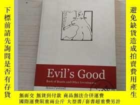 二手書博民逛書店Evil s罕見Good Book of Boasts and Other Investmep s Simon C
