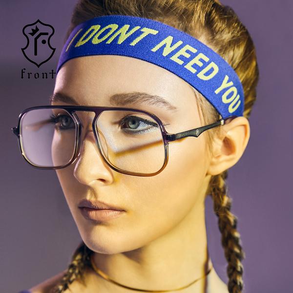【Front 太陽眼鏡】Sober-三色可挑選(#流行大框款太陽眼鏡/墨鏡)