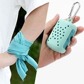 冷感纖維速乾運動毛巾 (小款40X40cm) 吸汗降溫手腕汗巾