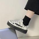 帆布鞋 日繫小白鞋女2021春季帆布鞋2021ins潮鞋子新款學生板鞋女鞋夏季