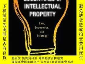 二手書博民逛書店Essentials罕見of Intellectual Property: Law, Economics, and