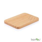 【Bambu 美國天然餐具】摩登系列-竹風砧板(蜂巢)