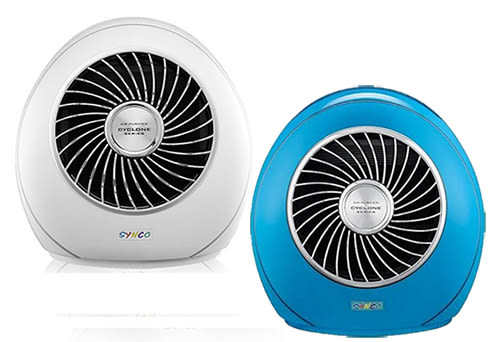 【SYNCO新格】繽旋風空氣清淨機-純淨白 AK-09H (藍/白兩色)《刷卡分期+免運》