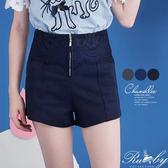 褲子 素色蕾絲短褲-Ruby s 露比午茶