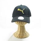 PUMA 基本系列棒球帽 運動帽 02241642 後魔鬼氈 可調整式 黑金【iSport愛運動】