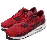 【六折特賣】Nike 復古慢跑鞋 Air Max 90 Ultra 2.0 Essential 紅 白 氣墊 運動鞋 男鞋【PUMP306】 875695-600