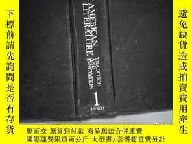 二手書博民逛書店AMERICAN罕見LITERATURE TRADITION A