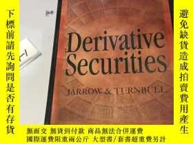 二手書博民逛書店英文原版:Derivative罕見Securities 精裝本Y