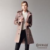 【ST.MALO】漫步倫敦經典款雙排機能風衣-1724WC-深駝棕