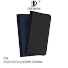 【愛瘋潮】DUX DUCIS ASUS ZenFone 6(2019) ZS630KL  SKIN Pro 皮套 可插卡 支架 鏡頭保護