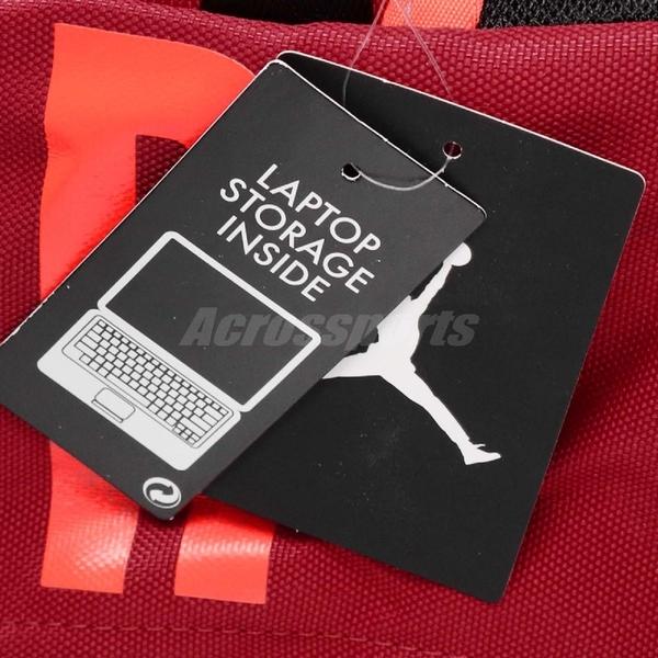 Nike 後背包 Jordan Air Patrol Pack 27L Large 大容量 紅 橘 男女款 喬丹 飛人 背包【PUMP306】 9A0172-R78
