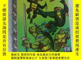 二手書博民逛書店TEEAGE罕見MUTANT NINJA TURTLES (COLORING BOOK)Y136970 如圖