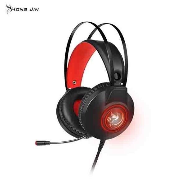 【南紡購物中心】宏晉 HongJin HJM-X7 RGB全彩 USB控制7.1聲道電競耳機