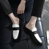 豆豆鞋秋季英倫男士小皮鞋透氣懶人豆豆精神社會小伙 衣間迷你屋
