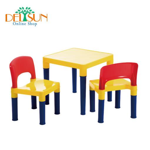 兒童桌椅組 書桌椅 小桌子 小椅子 DELSUN岱森城 #8101