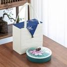 普洱茶禮盒包裝茶餅盒收納盒茶餅罐茶葉儲存罐空禮盒裝中式高檔