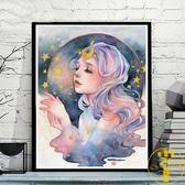 diy數字油畫 大幅填色手繪裝飾畫【雲木雜貨】