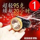 強光充電鋰電超輕小頭燈 迷你LED頭戴式手電夜釣魚燈遠射聚光超亮【全館免運】