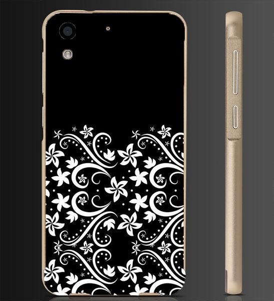 ✿ 俏魔女美人館✿ 【黑色花邊*金屬邊框】htc 728手機殼 手機套 保護套 保護殼